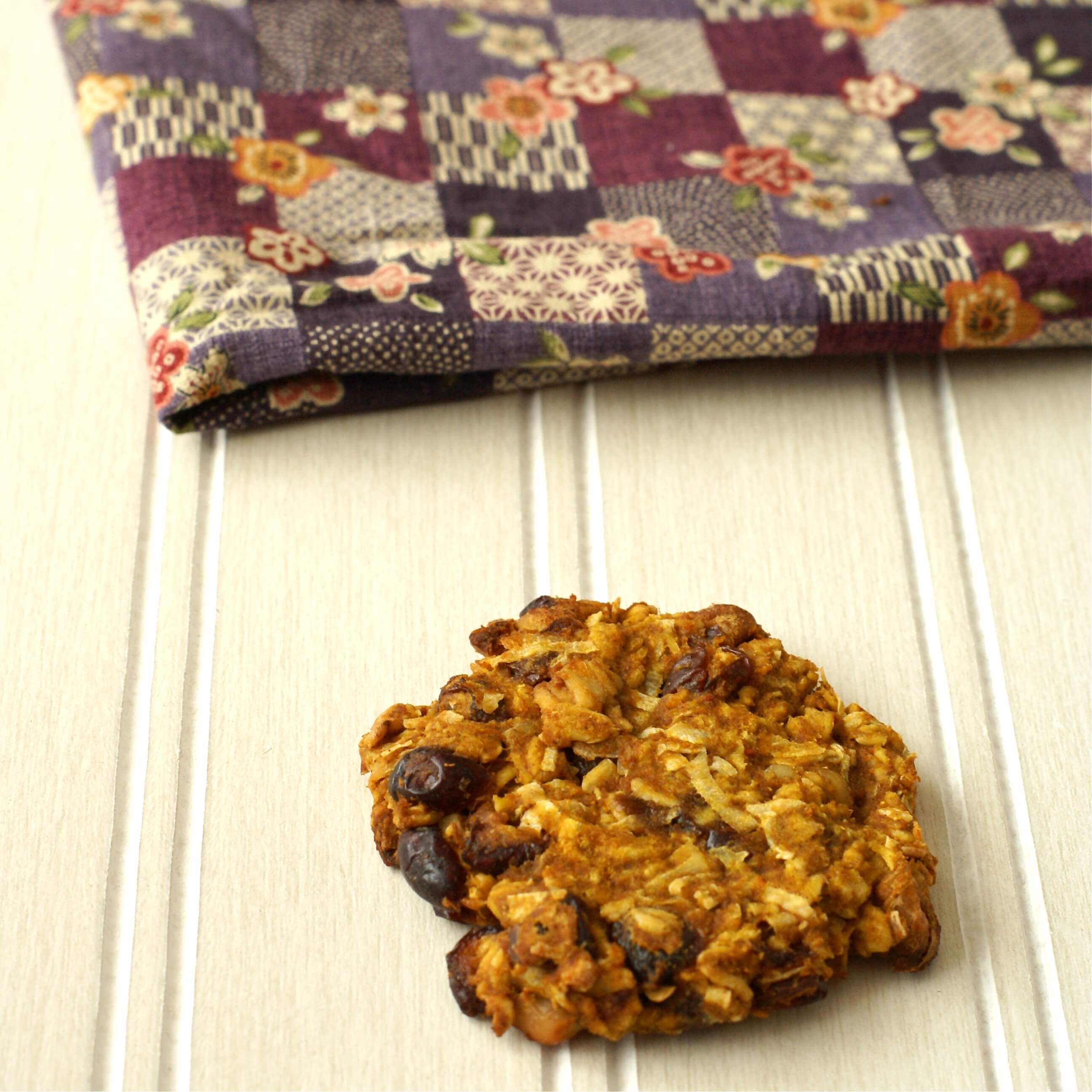 Cookie with Cloth Napkin
