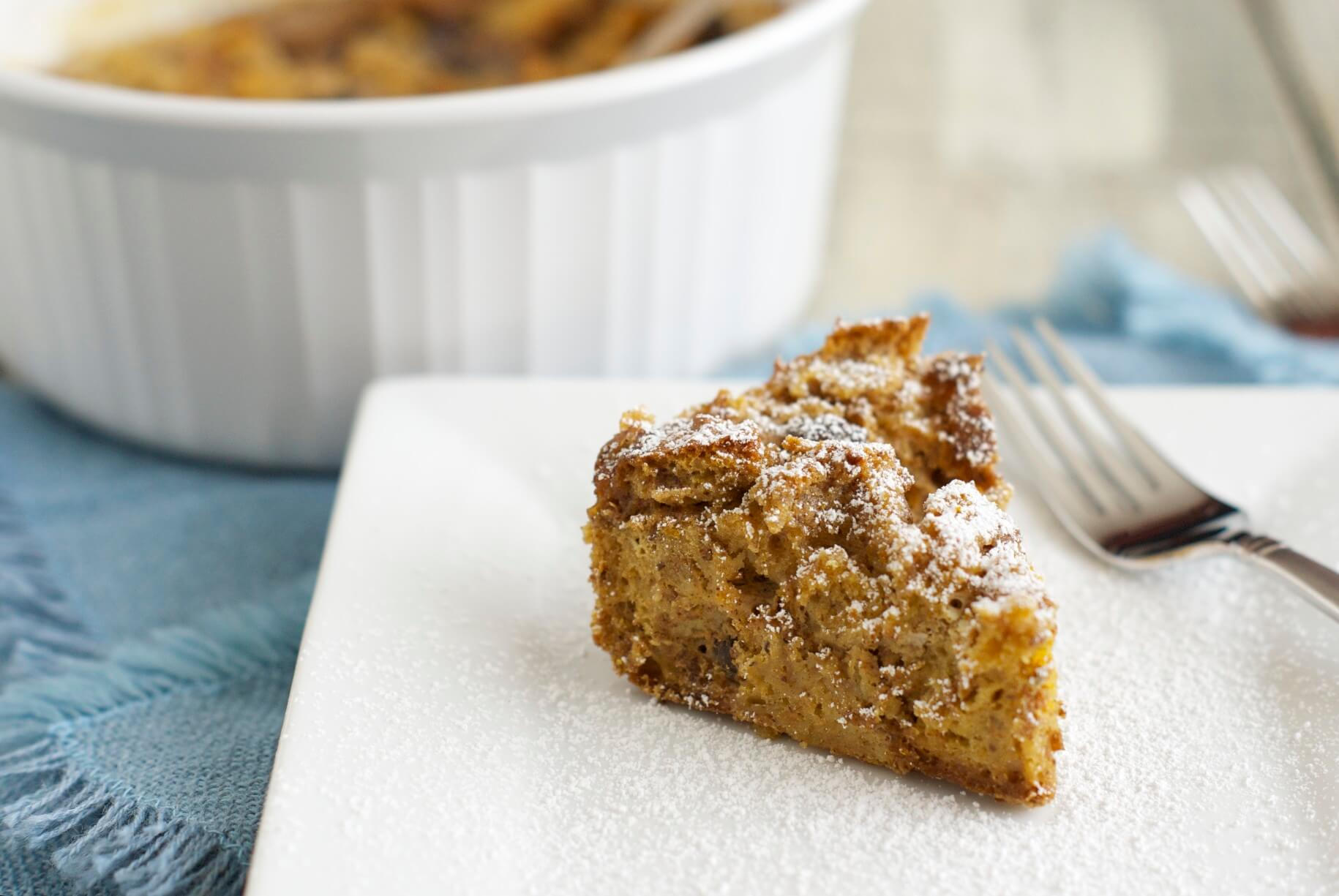 Healthy Brown Bread Pudding
