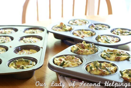 Individual Fritattas | Our Lady of Second Helpings