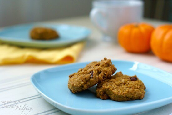 Pumpkin Oatmeal Cookies - Revisited | Plate Full of Grace