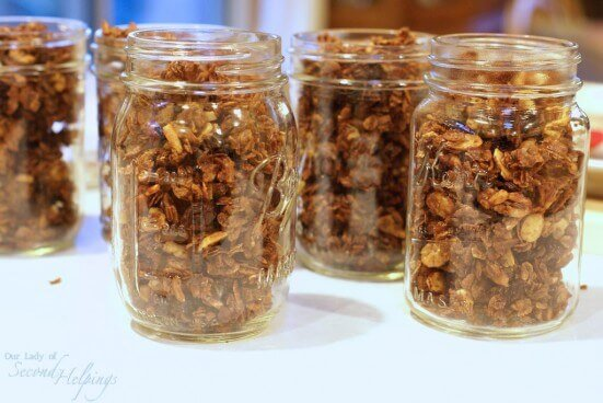 Irresistable Cinnamon Granola Clusters | Our Lady of Second Helpings