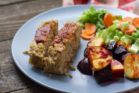 Skinny Turkey-Millet Meatloaf | Our Lady of Second Helpings