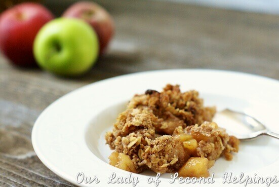 Apple Crumble a Timeless Classic | Our Lady of Second Helpings