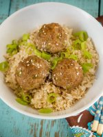 If you like meatballs, foods with Asian flavors, quick family dinners, or are simply hungry - you will really enjoy these easy Teriyaki Turkey Meatballs.