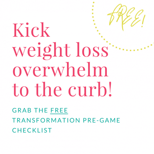 weight loss Transformation Pre-Game Checklist: 5 Essential mindset shifts to make before starting a weight loss journey
