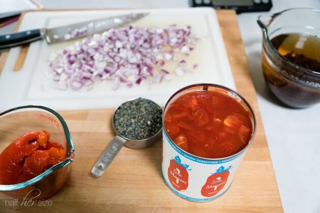 Tomato and Lentils
