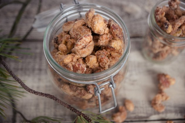 Homemade Gift Candied Nuts