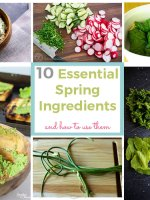 Shake off the sluggish feelings of winter with these 10 essential Spring ingredients and mouthwatering recipes.