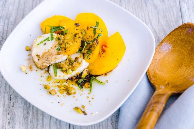 This summery recipe offers a peachy twist on an Italian favorite, peach caprese salad is an easy no-cook side dish you are sure to revisit again and again.