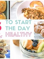 15 easy breakfast recipes that are truly healthy AND ready in 10 minutes or less. You'll love these grab-and-go ideas to keep you satisfied all morning.