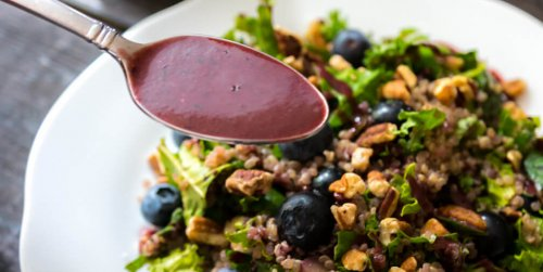 Easy Low-Fat Blueberry Balsamic Vinaigrette